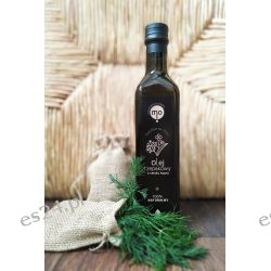 Olej Rzepakowy o smaku kopru tłoczony na zimno, 100 % naturalny, 0,5 l Oleje