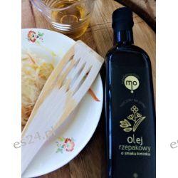 Olej Rzepakowy o smaku kminku, tłoczony na zimno, 100 % naturalny, 0,5 l Oleje
