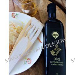 Olej Rzepakowy o smaku kminku, tłoczony na zimno, 100 % naturalny, 0,25 l Oleje