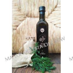 Olej Rzepakowy o smaku kopru tłoczony na zimno, 100 % naturalny, 0,25 l Oleje