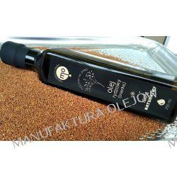 Olej Rydzowy (lnianka) spożywczy tłoczony na zimno, 100 % naturalny, 0,25 l