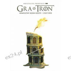 Gra o tron. Sezon 6 (edycja limitowana) ( DVD) - Sackheim Daniel Pozostałe