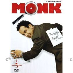 Monk 01: Monk i wróżka ( DVD) - Parisot Dean Zagraniczne