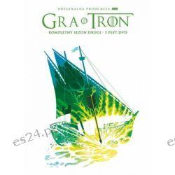 Gra o tron. Sezon 2 (edycja limitowana) ( DVD) - Patten Van Timothy Zagraniczne