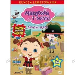 Małgosia i buciki: Piracki skarb + puzzle ( DVD) - Various Directors