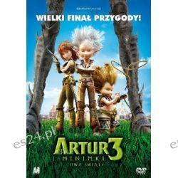 Artur i Minimki 3: Dwa światy ( DVD) - Besson Luc Pozostałe
