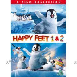 Happy Feet/Happy Feet 2 (brak polskiej wersji językowej) ( DVD) - Miller George Filmy