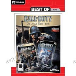 Call of Duty - Deluxe Edition Best of Activision ( PC) - Infinity Ward  Pozostałe