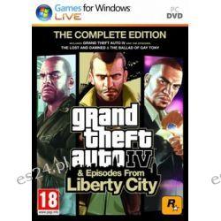 Grand Theft Auto IV - The Complete Edition ( PC) - Rockstar  Pozostałe