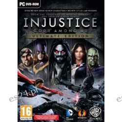 Injustice: Gods Among Us - Ultimate Edition ( PC) - Warner Bros  Komputerowe PC