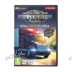 American Truck Simulator: California ( PC) - SCS Software  Komputerowe PC