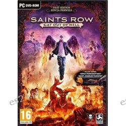 Saints Row 4: Gat Out of Hell - First Edition ( PC) - Koch Media  Komputerowe PC
