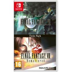 Final Fantasy VII + Final Fantasy VIII Remastered ( Switch) - Square-Enix / Eidos  Gry