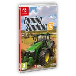 Farming Simulator 20 ( Switch) - GIANTS Software  Gry