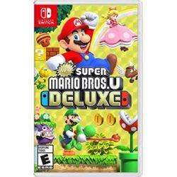 New Super Mario Bros U Deluxe ( Switch) - Nintendo  Gry