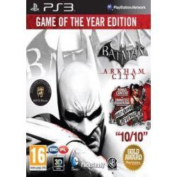 Batman: Arkham City - Game of The Year Edition ( PlayStation 3) - Warner Bros  Gry