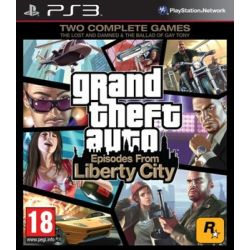 Grand Theft Auto 4: Episodes from Liberty City ( PlayStation 3) - Rockstar  Gry