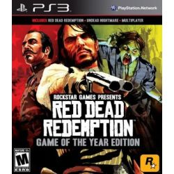 Red Dead Redemption - Game of the Year Edition ( PlayStation 3) - Rockstar  Gry