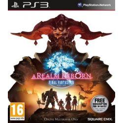 Final Fantasy XIV: A Realm Reborn ( PlayStation 3) - Square Enix  Gry