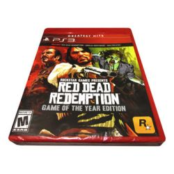 Red Dead Redemption - Game Of The Year Edition ( PlayStation 3) - Rockstar Games  Gry