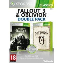 The Elder Scrolls: Oblivion & Fallout 3 Double Pack ( Xbox 360) - Bethesda  Gry