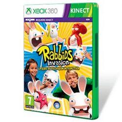 Rabbids Invasion Interaktywy Program TV PL X360 ( Xbox 360) - Inny  Gry