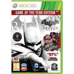 Batman: Arkham City - Game of The Year ( Xbox 360) - Warner Bros  Gry