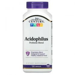 21st Century, Acidophilus Probiotic Blend, 150 Capsules Pozostałe