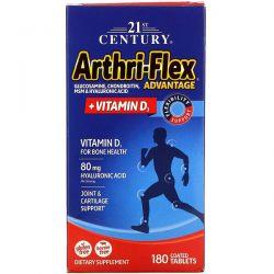 21st Century, Arthri-Flex Advantage + Vitamin D3, 180 Coated Tablets Pozostałe