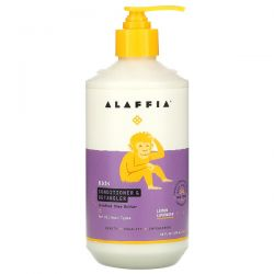 Alaffia, Kids, Conditioner & Detangler, Lemon Lavender, 16 fl oz (476 ml) Pozostałe