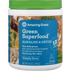 Amazing Grass, Green Superfood, Alkalize & Detox, 8.5 oz (240 g) Pozostałe