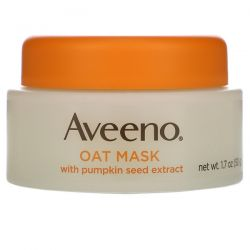 Aveeno, Oat Beauty Mask with Pumpkin Seed Extract, Soothe, 1.7 oz (50 g)  Pozostałe