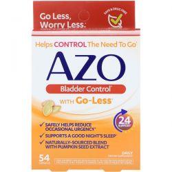 Azo, Bladder Control with Go-Less, 54 Capsules Pozostałe