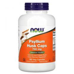 Now Foods, Psyllium Husk Caps, 700 mg, 180 Veg Capsules Pozostałe