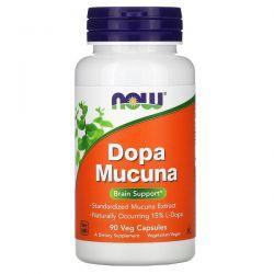 Now Foods, Dopa Mucuna, 90 Veg Capsules Pozostałe
