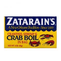 Zatarain's, Crawfish, Shrimp, & Crab Boil in Bag, 3 oz (85 g) Pozostałe