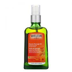 Weleda, Muscle Massage Oil, Arnica Extracts, 3.4 fl oz (100 ml) Animowane