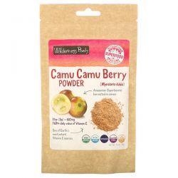 Wilderness Poets, Camu Camu Berry Powder, 3.5 oz (99 g) Animowane