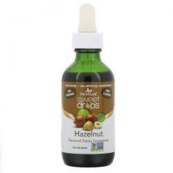 Wisdom Natural, SweetLeaf, Sweet Drops Stevia Sweetener, Hazelnut, 2 fl oz (60 ml) Pozostałe