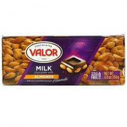 Valor, Milk Chocolate with Almonds, 8.8 oz (250 g) Pozostałe
