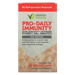 Vitamin Bounty, Pro-Daily Immunity, 10 Billion CFU, 60 Veggie Caps Pozostałe