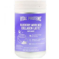 Vital Proteins, Collagen Latte, Blueberry Moon Milk, 11.5 oz (325 g) Pozostałe