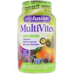 VitaFusion, MultiVites, Essential Multi, Natural Berry, Peach & Orange Flavor, 150 Gummies Pozostałe