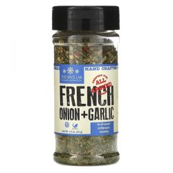 The Spice Lab, French Onion & Garlic, 1.9 oz (53 g) Pozostałe