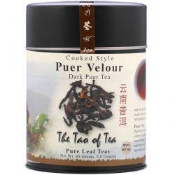 The Tao of Tea, Cooked Style Puer Velour, Dark Puer Tea, 3 oz (85 g)