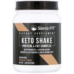 Sierra Fit, Keto Shake, Chocolate, 1.49 lbs (675 g) Pozostałe
