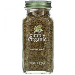 Simply Organic, Cumin Seed, 3.00 oz (85 g) Pozostałe