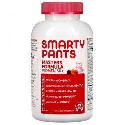 SmartyPants, Masters Formula Women 50+, Blueberry, Orange Creme, and Strawberry Banana, 120 Gummies Pozostałe