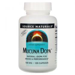 Source Naturals, Mucuna Dopa, 100 mg, 120 Capsules Pozostałe