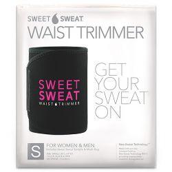Sports Research, Sweet Sweat Waist Trimmer, Small, Black & Pink, 1 Belt Pozostałe